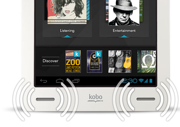 Tablette Kobo by Fnac Arc  Noir Go a w