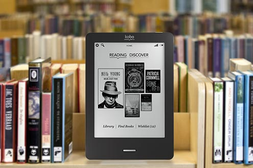 Load up library eBooks