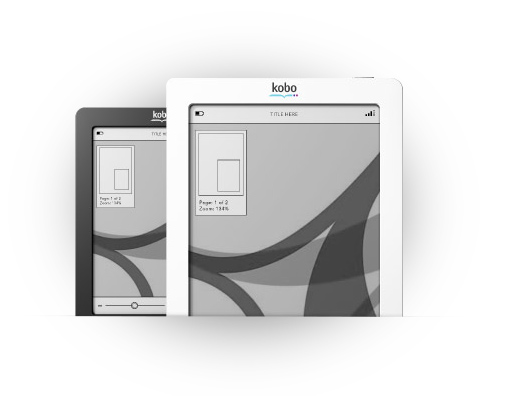 Your eBooks, your files, your kobo