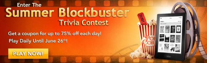 Enter the summer blockbuster trivia contest. Play now