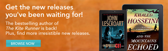 Get the new releases you've been waiting for! The bestselling author of The Kite Runner is back! Plus, find more irresistible new releases.